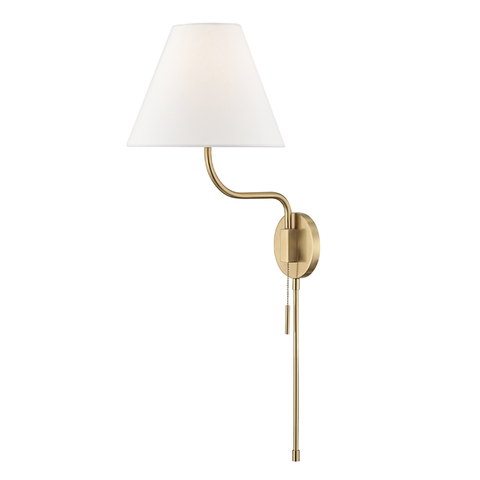 Patti 1 Light Wall Sconce With Plug by Mitzi