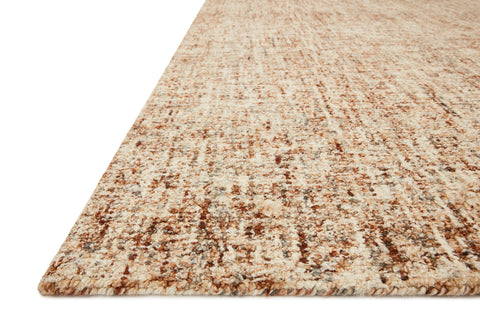 Harlow Rug in Rust / Charcoal by Loloi