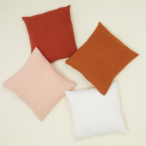 Simple Linen Pillow in Various Colors & Sizes by Hawkins New York