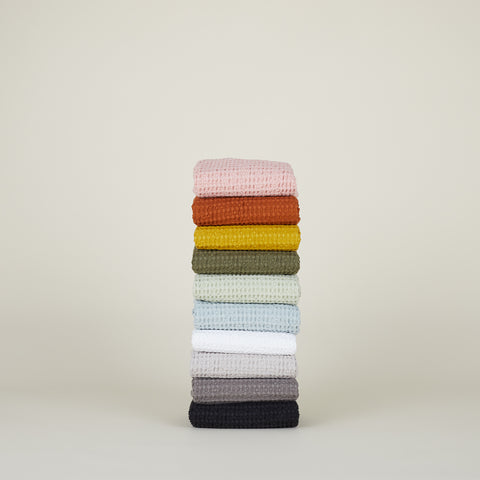 Simple Waffle Towel in Various Colors & Sizes by Hawkins New York