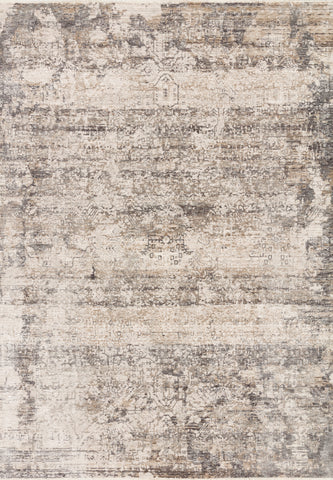 Homage Rug in Graphite / Beige by Loloi