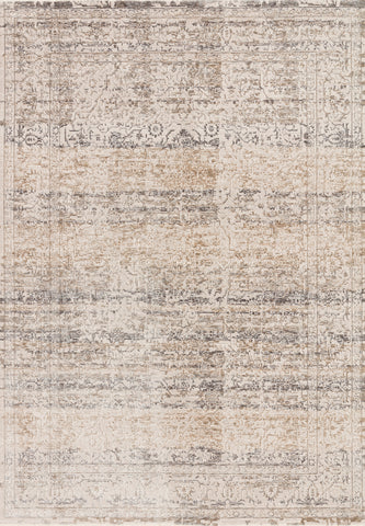 Homage Rug in Beige / Grey by Loloi