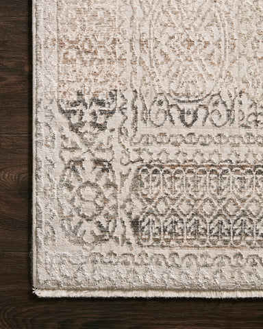 Homage Rug in Ivory / Silver by Loloi