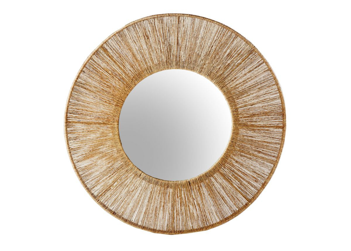High Ball Mirror In Natural Design By Selamat Burke Decor