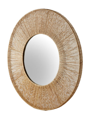 High Ball Mirror in Natural design by Selamat