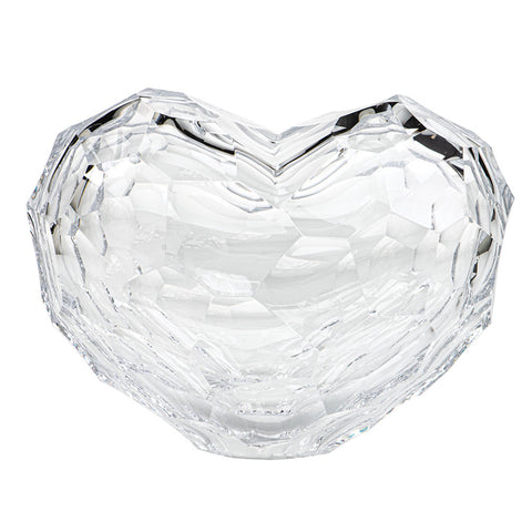 Heart Sculpture in Clear