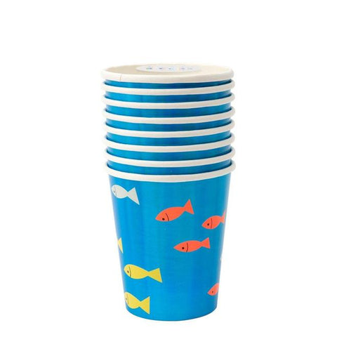 Under The Sea Party Cups