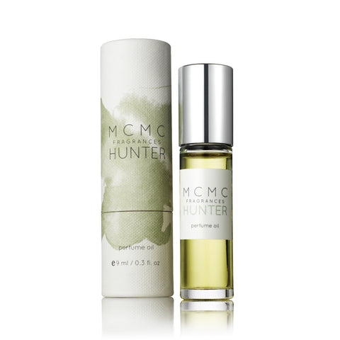 Hunter 9ml Perfume Oil design by MCMC Fragrances