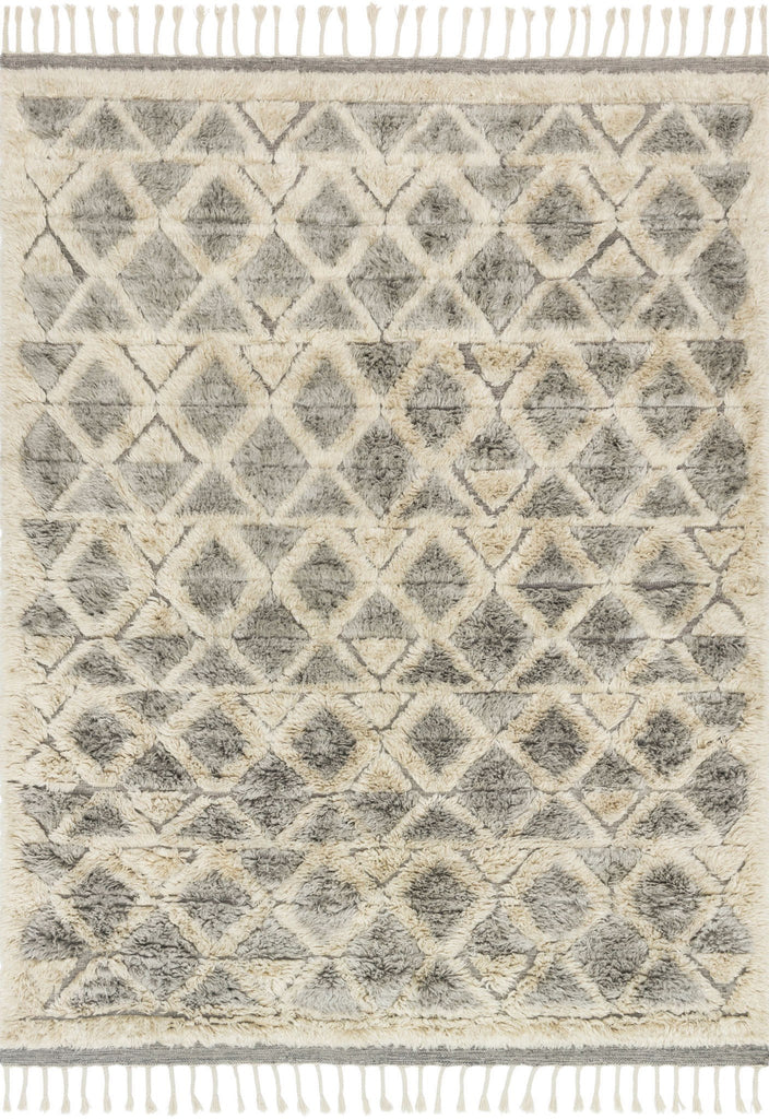 Hygge Rug in Smoke & Taupe by Loloi