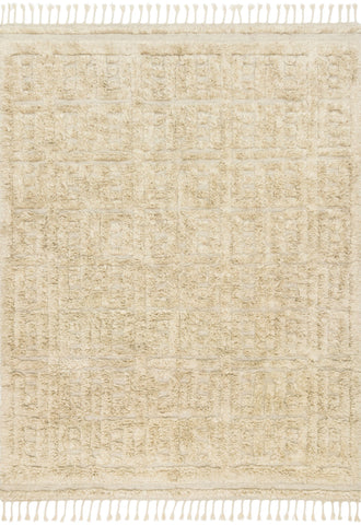 Hygge Rug in Oatmeal & Sand by Loloi