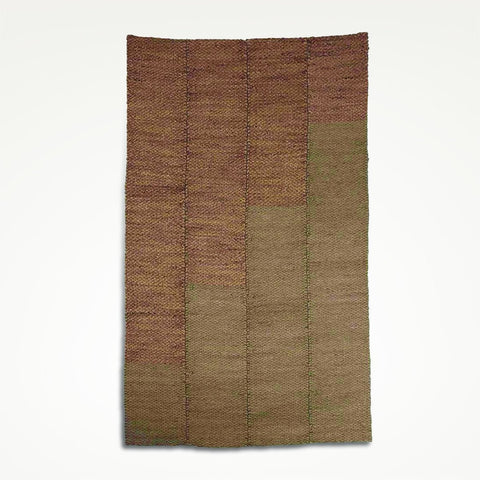 Hand-Woven Seagrass & Water Hyacinth Rug