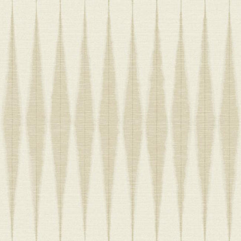 Handloom Wallpaper in Beige from Magnolia Home Vol. 2 by Joanna Gaines