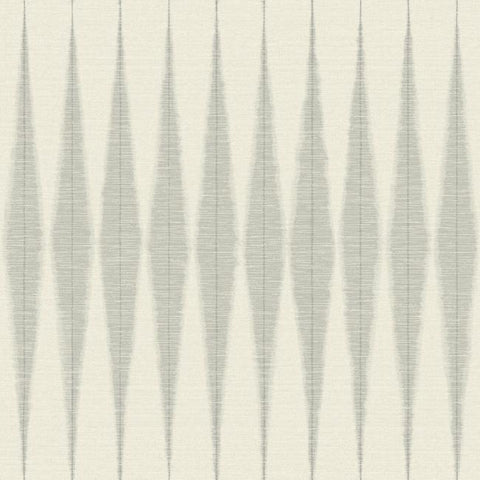 Handloom Wallpaper in Cool Grey from Magnolia Home Vol. 2 by Joanna Gaines