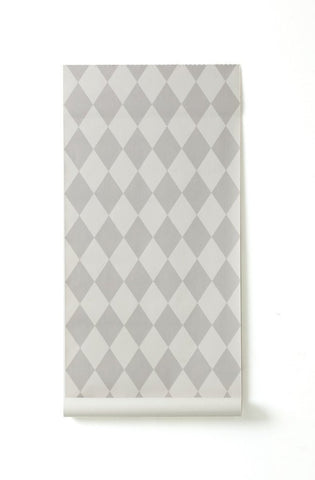 Sample Harlequin Wallpaper in Grey design by Ferm Living