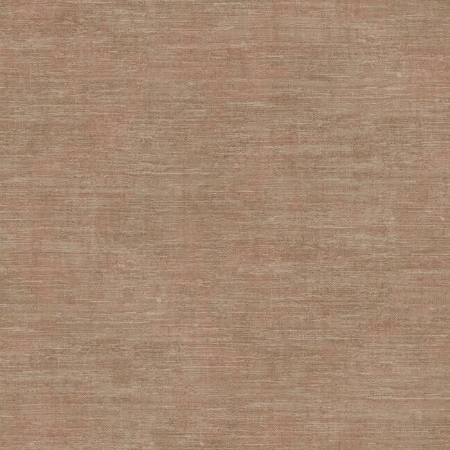 Sample Heathered Wool Wallpaper in Rust by Antonina Vella for York Wallcoverings