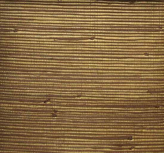 Heavy Jute Wallpaper in Brown and Gold from the Winds of the Asian Pacific Collection by Burke Decor