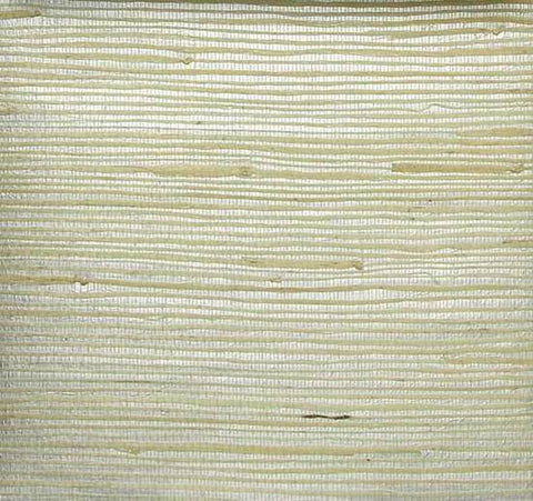 Heavy Jute Wallpaper in Ivory and Silver from the Winds of the Asian Pacific Collection by Burke Decor