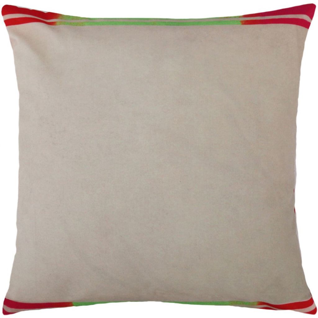 Andy Warhol Art Pillow in Beige design by Henzel Studio