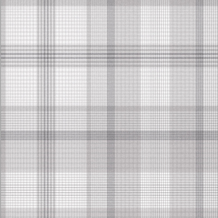 Sample Heritage Plaid Wallpaper in Grey from the Exclusives Collection by Graham & Brown