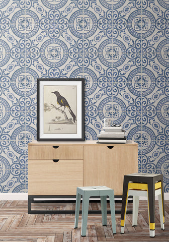 Heritage Tiles Wallpaper design by Milton & King