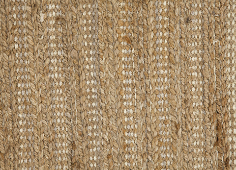 Himalaya Collection Jute and Cotton Area Rug in Driftwood Natural by Jaipur