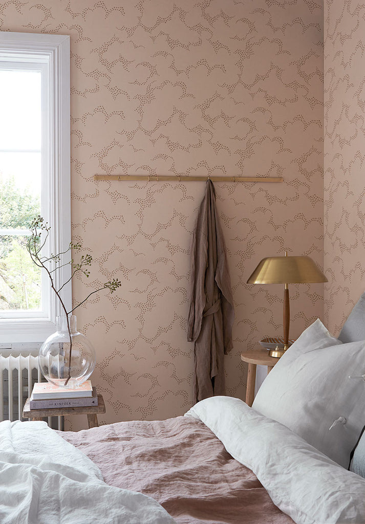 Himmel Abstract Dots Wallpaper from the Wonderland Collection by Brewster Home Fashions