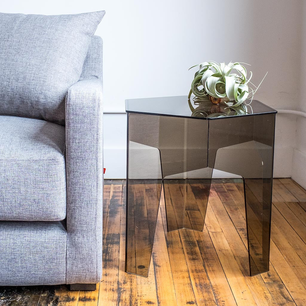 Hive end table design by gus modern burke decor for Modern hive