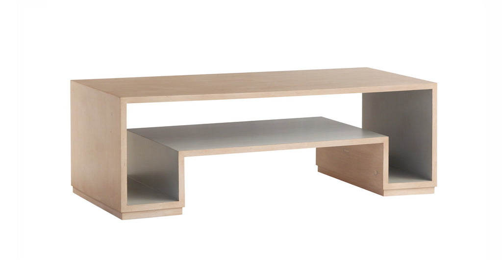 Holden Coffee Table in Cashew & Shell Grey design by Redford House