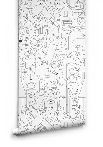 Honey Money Boutique Wallpaper by Milton & King