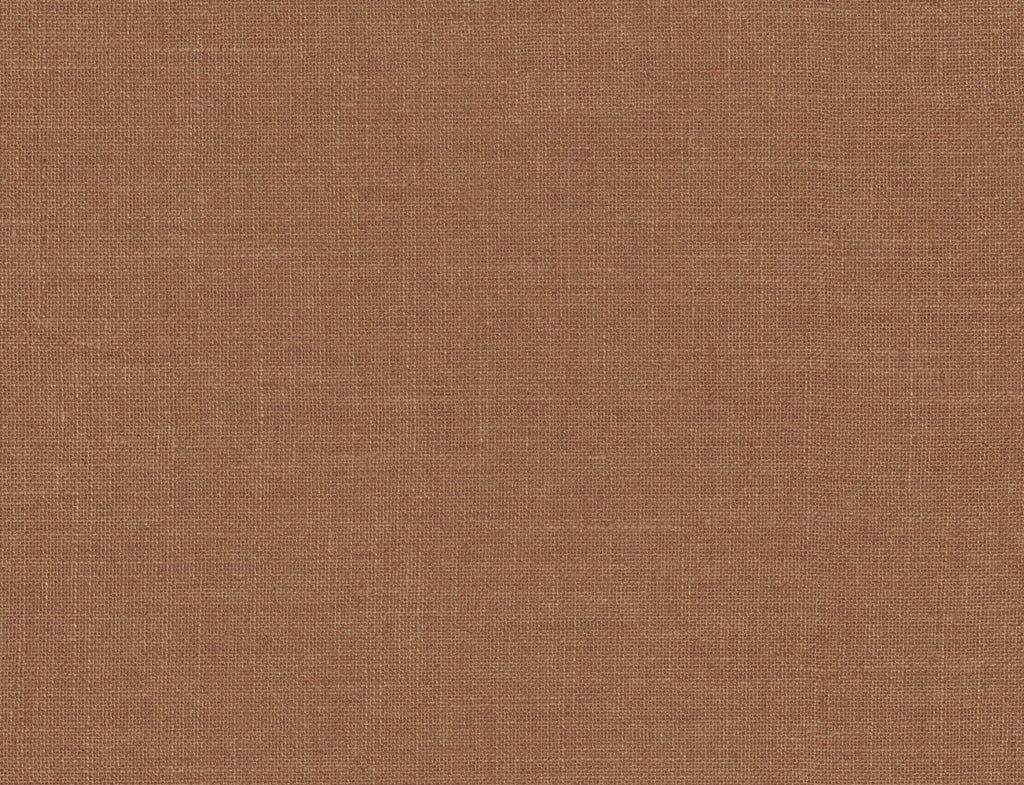 Sample Hopsack Embossed Vinyl Wallpaper in Copper Penny from the Living With Art Collection by Seabrook Wallcoverings
