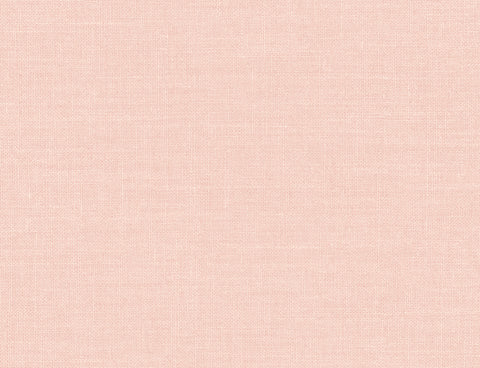 Hopsack Embossed Vinyl Wallpaper in Lightly Pink from the Living With Art Collection by Seabrook Wallcoverings