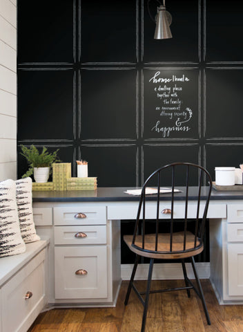 Hopscotch Inverse Wallpaper from the Magnolia Home Vol. 3 Collection by Joanna Gaines