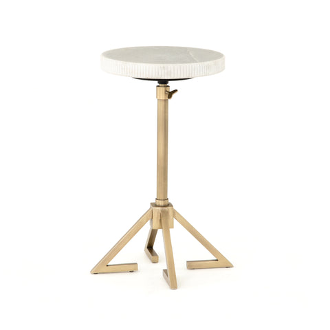 Alana Adjustable Accent Table in Various Colors