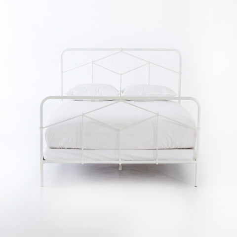 Casey Bed in White