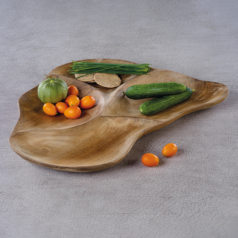 Santos Wood Condiment Tray by Panorama City