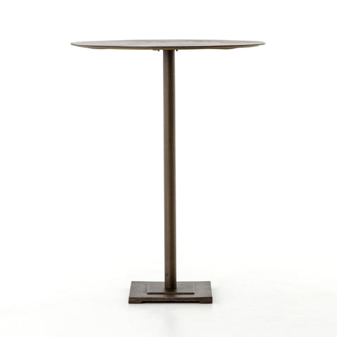 Fannin Bar Table in Aged Brass by BD Studio