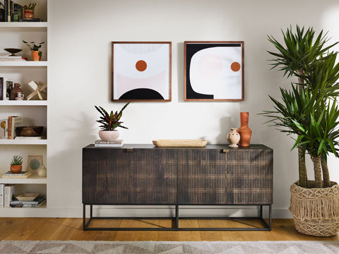 Kelby Sideboard in Vintage Brown