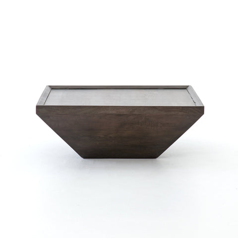 Drake Coffee Table in Coal Grey