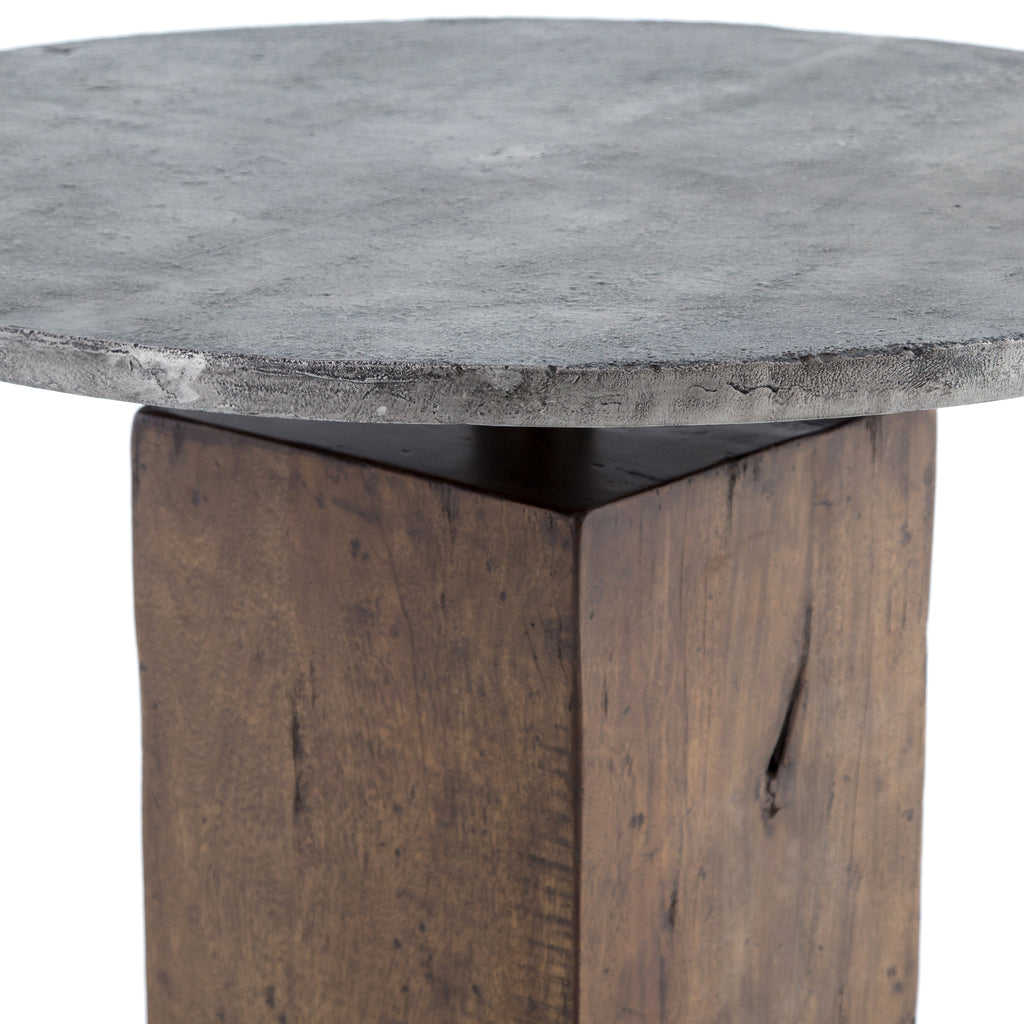 Boomer Bistro Table in Tanner Brown