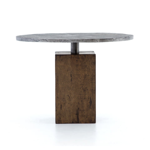 Boomer Bistro Table in Tanner Brown by BD Studio