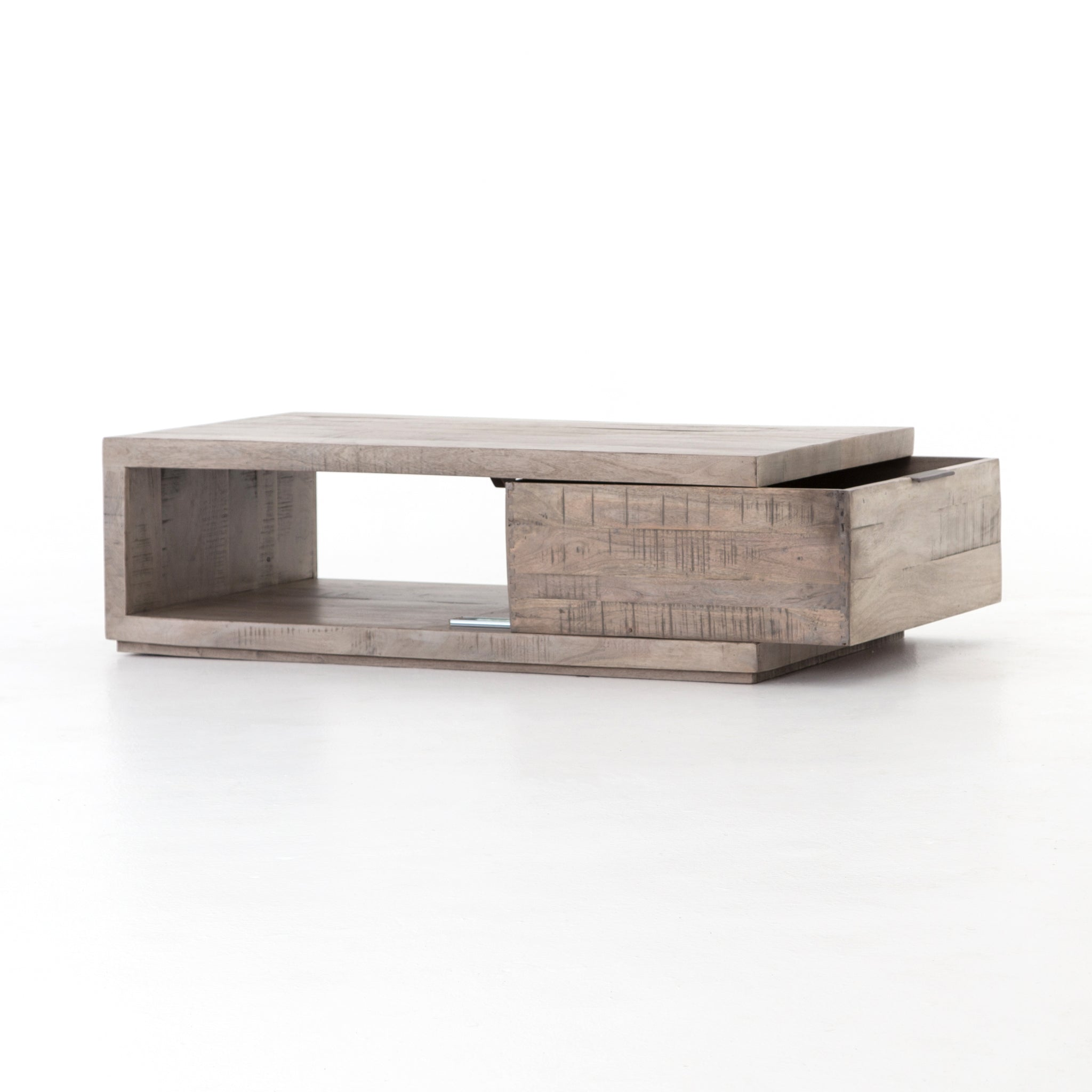 Dillon Coffee Table In Weathered Salvage Grey