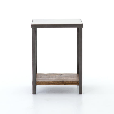 Elliott Nightstand in Gunmetal