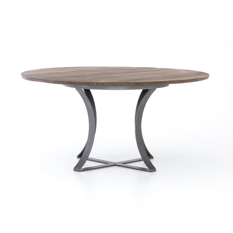 "Gage 60"" Dining Table in Tanner Brown design by BD Studio"