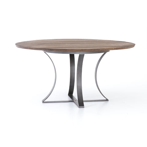 Gage 60 Dining Table In Tanner Brown