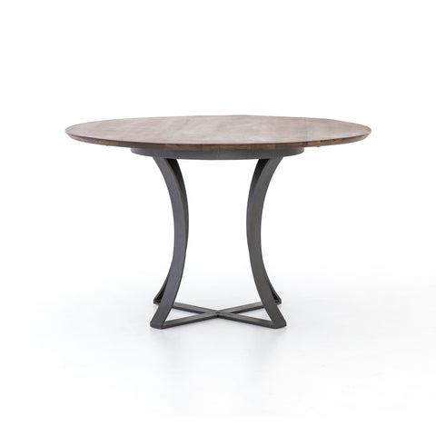 Gage Dining Table In Tanner Brown