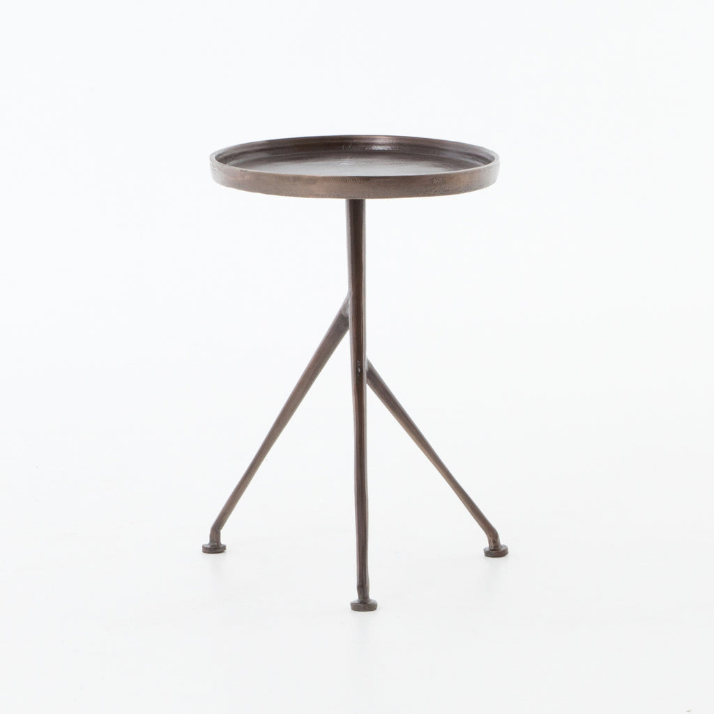 Schmidt Accent Table in Antique Rust