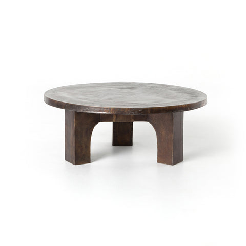 Cruz Coffee Table in Antique Rust
