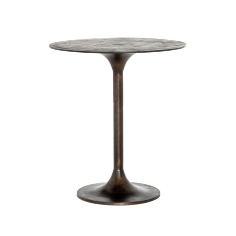 Simone Bar + Counter Table in Antique Rust