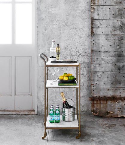 Stelle Bar Cart in Various Sizes design by BD Studio