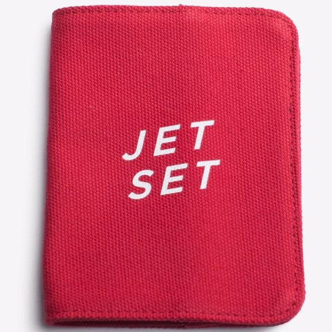 Jet Set Passport Holder design by Izola